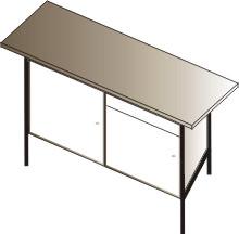 stół warsztatowy jednostanowiskowy 1500x750x900