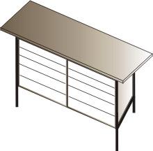 stół warsztatowy  1500x750x900 10 szuflad