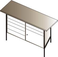 stół  warsztatowy  1500x750x900 7 szuflad+ szafka