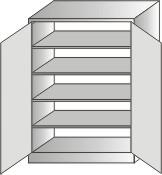 szafka narzędziowa stojąca 2000x970x460