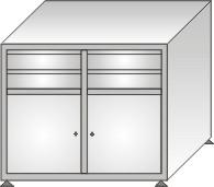 szafka narzędziowa 1000x1200x600