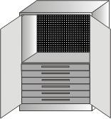 szafa narzędziowa 2000x970x600