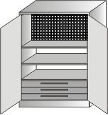 szafka narzędziowa 1000x600x350