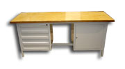 stół warsztatowy   2000x750x900 5 szuflad+szafka