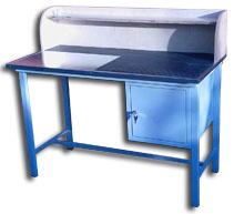 stół dla elektryka z nadbudową 1250x600x820