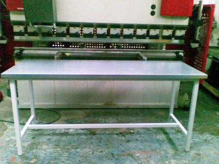 stół warsztatowy 2000x750x900 blat  blacha