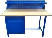 stół warsztatowy 1500x750x900 z nadbudową