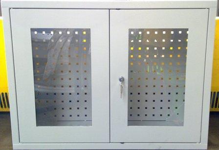 szafka narzędziowa wisząca 800x800x350 przeszklona