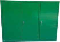 szafka narzędziowa wisząca 900x1200x400 3-drzwiowa