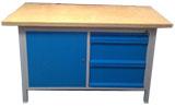 stół warsztatowy 1500x750x900 z 2 szafkami