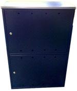 szafka gazowa podwójna 1200x800x300