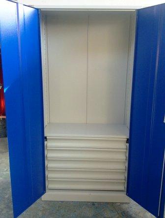 szafa narzędziowa 2000x970x500  z  szufladami