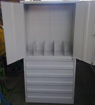 szafa narzędziowa 2000x800x500 z szufladami