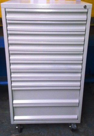wózek narzędziowy z 10 szufladami 1250x600x600