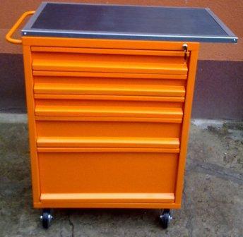 wózek narzędziowy 5-szuflad 1200x600x500 z blatem