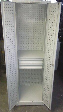 szafa narzędziowa 2000x600x600 z ściankami perforo