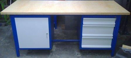 stół warsztatowy 2000x750x900 3 szuflady+szafka