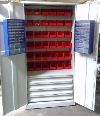 szafa narzędziowa 2000x900x500 z szufladami i poje
