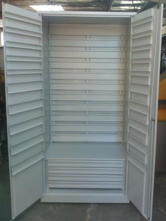 szafa narzędziowa 2000x900x500 na pojemniki