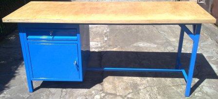 stół warsztatowy 2000x750x900 1 szuflada+ szafka