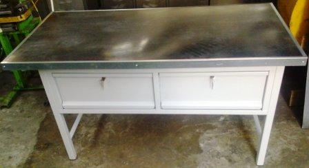 stół warsztatowy 1500x750x850 2 szuflady