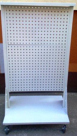 wózek narzędziowy 1600x850x600 z tablicami perfor