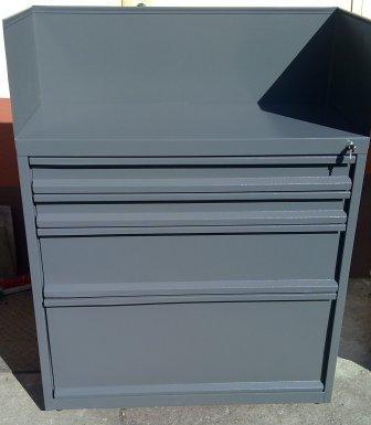 szafa narzędziowa 1000x800x500 4 szuflady + nadsta