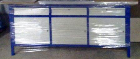 stół warsztatowy 2000x750x900 3xszafka z szufladą