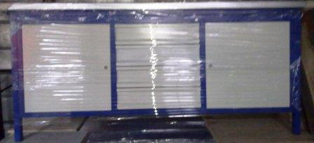 stół warsztatowy 2000x750x900 2xszafka + 4 szuflad