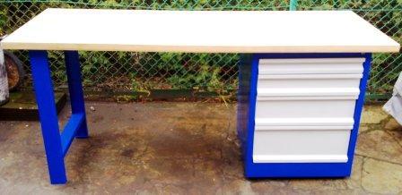 stół warsztatowy 2000x750x900 szafka 4 szuflady