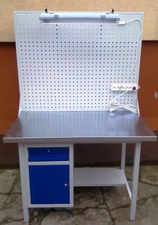 stół warsztatowy 1200x700x900 szafka z szufladą