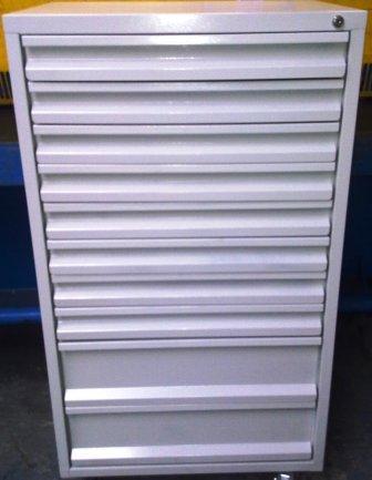 szafa narzędziowa z 10 szufladami 1250x600x600