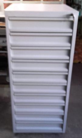 szafa narzędziowa 1200x600x600 10 szuflad 100 kg