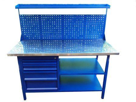 stół warsztatowy 1500x700x900/1600 NADBUDOWA